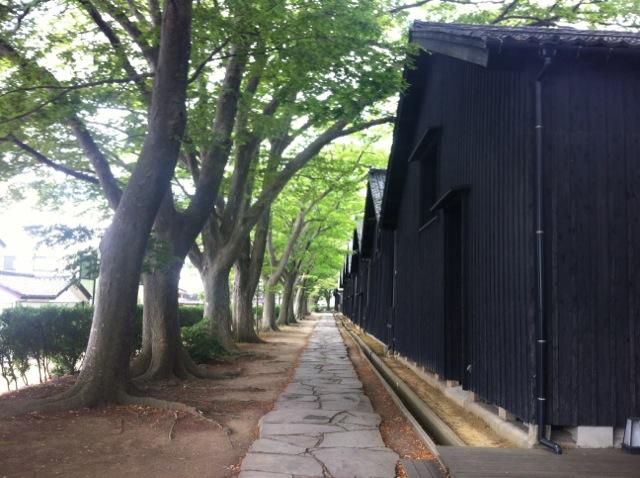 酒田市の山居倉庫です。